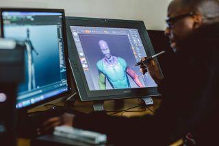 Máster en diseño y modelado de entornos virtuales y animación de personajes 3D