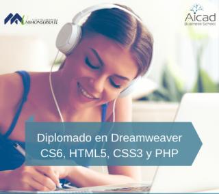 Diplomado en Dreamweaver CS6, HTML5, CSS3 y PHP