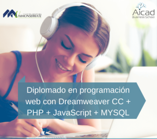 Diplomado en programación web con Dreamweaver CC + PHP + JavaScript + MYSQL