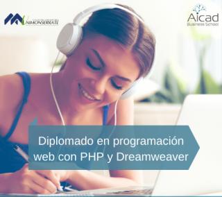 Diplomado en programación web con PHP y Dreamweaver