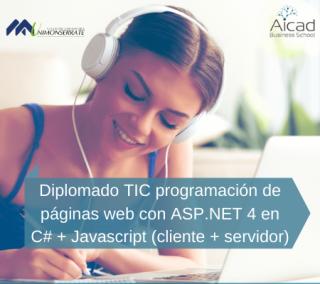 Diplomado TIC programación de páginas web con ASP.NET 4 en C# + Javascript (cliente + Sservidor)