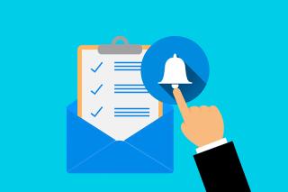 Notificación y registro electrónico