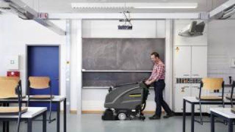 Limpieza en centros escolares